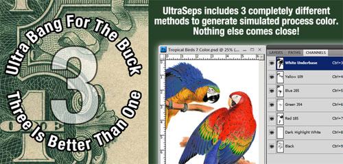 UltraSeps T Shirt Color Separation Software