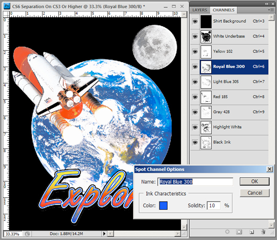 photoshop spot channel panel ultraseps