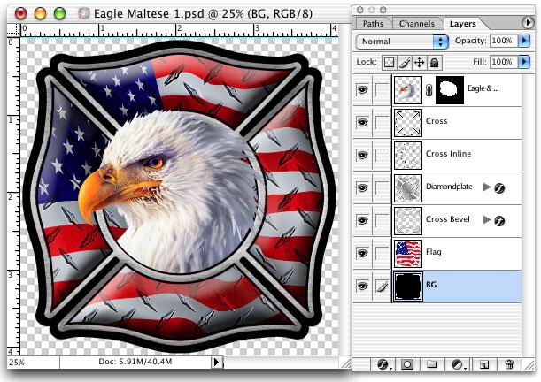 fire department decal screen printing art