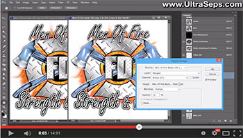 merging spot color channels