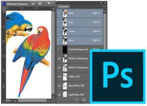 photoshop plugin color separation