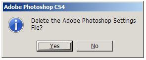 reset photoshop preferences quikseps