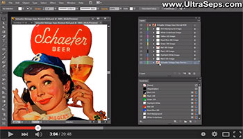print film positives illustrator